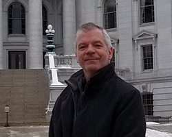 Mike Trehey at Wisconsin State Capitol